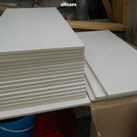 Carrelage (Blanc/Gris) & Plinthes