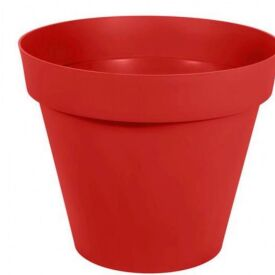Pot Toscane Rouge Rubis Neuf 66cm (3 pots disponibles)